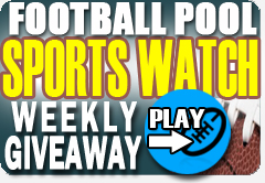 Sports Watch Weekly Giveaway