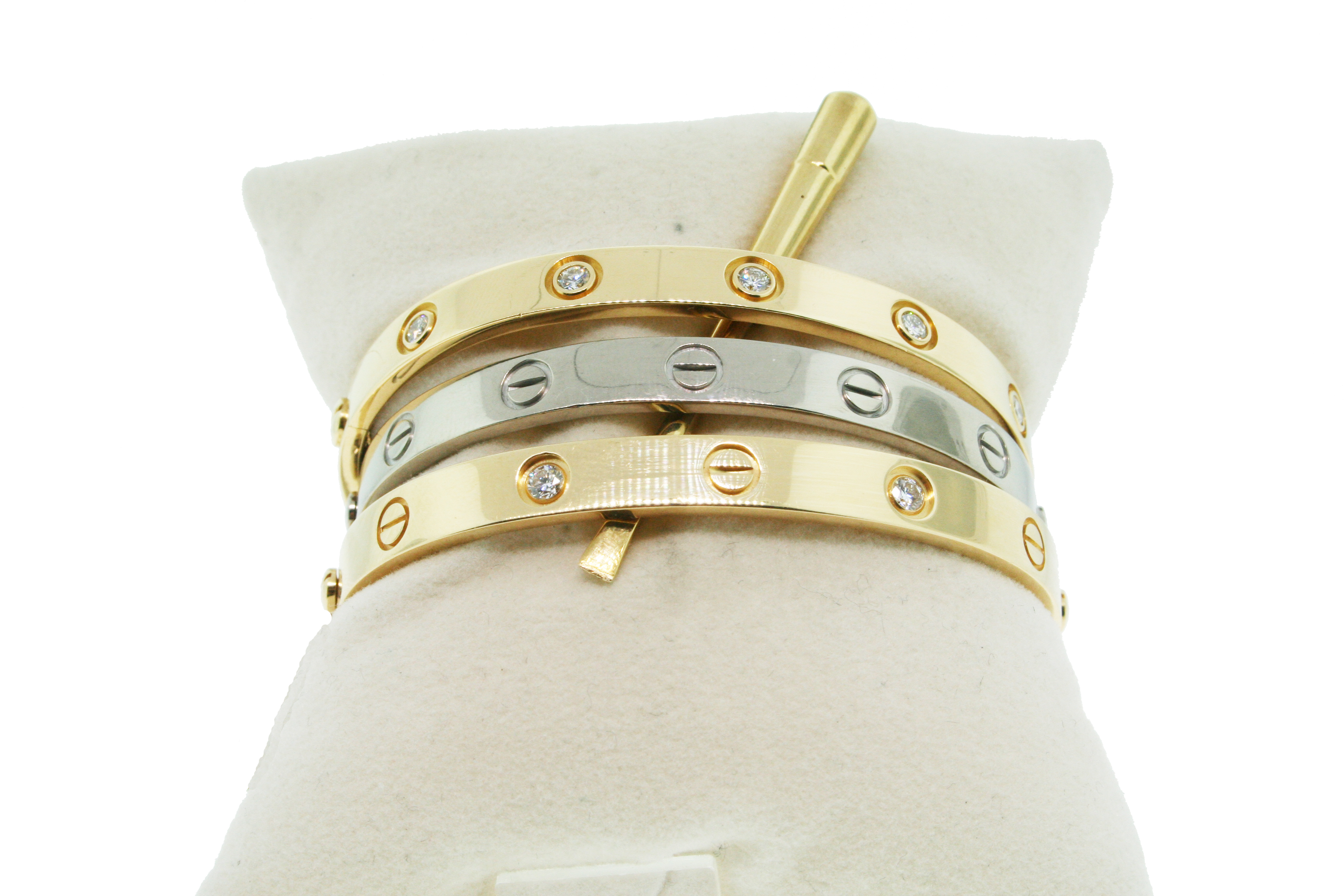 Our Price: $3,495.00. Cartier Love Bracelets