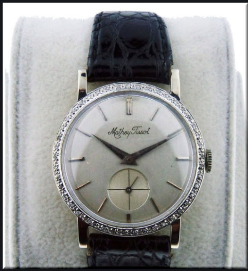 Mathey Tissot Vintage Watch