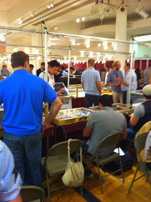 Raymond Lee Jewelers at the Largest IWJG in NY Show... Ever!