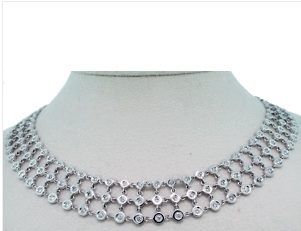 diamond necklace, raymond lee jewelers