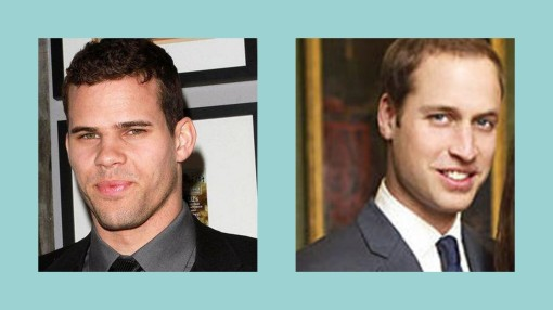 kris humphries, prince william, duke of cambridge, kim kardashian