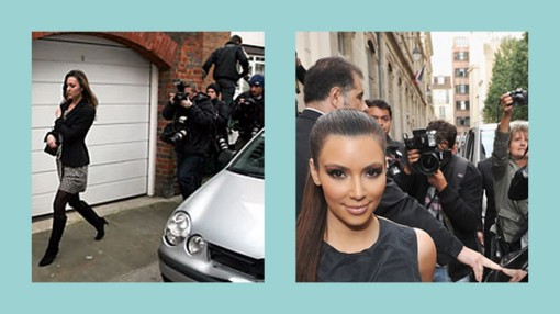 paparazzie, kim kardashian, kate middleton