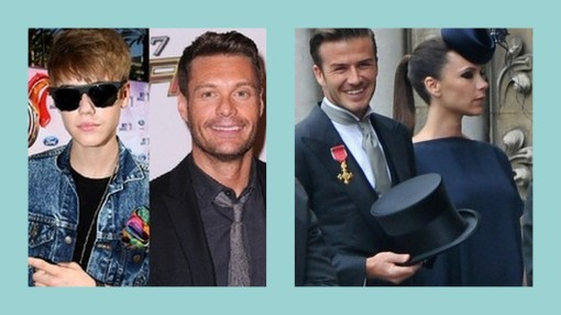justin beiber, ryan seacrest, david beckham, victoria beckham, posh and becks, kardashian wedding guests, kim kardashian wedding, royal wedding