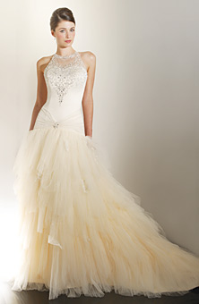 ivory wedding gown, wedding dress, ivory, wedding, dress, raymond lee jewelers