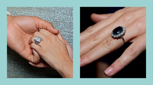 engagement ring, sapphire ring, kate middlteon ring, kim kardashian ring, kim kardashian engagement ring, kate middleton engagement ring