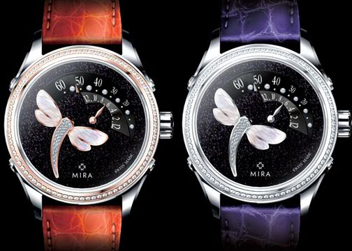 mira dragonfly, luxury watches, raymond lee