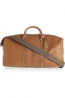 Mulberry Leather Weekend Bag $1,650