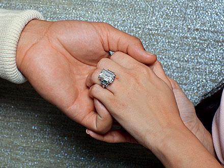 Kim Kardashian Engagement Ring, Raymond lee Jewelers