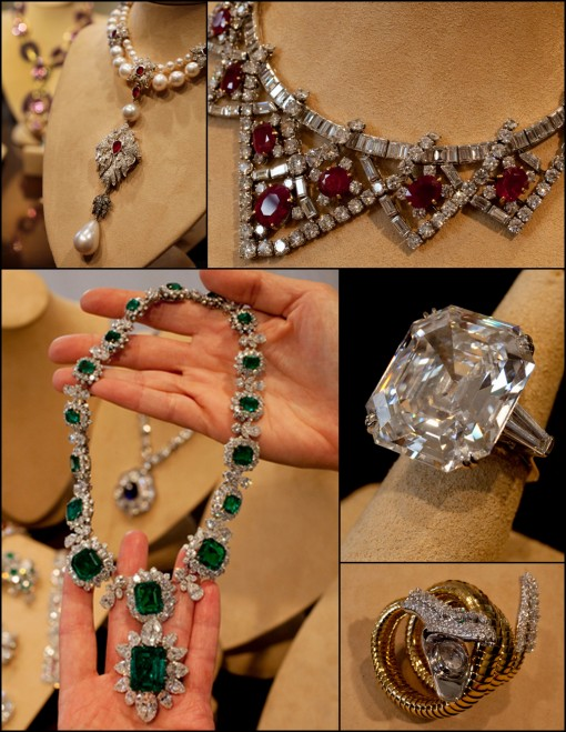 Liz Taylor's jewelry, Christie's, Auction, Raymond Lee Jewelers, Estate Jewelry